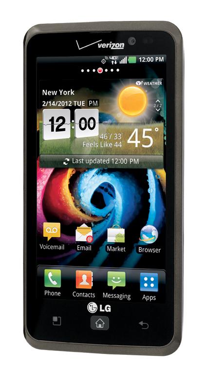 LG전자 LTE 스마트폰 제품 사진