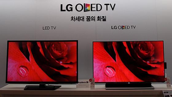 55인치 OLED 3D TV 사진