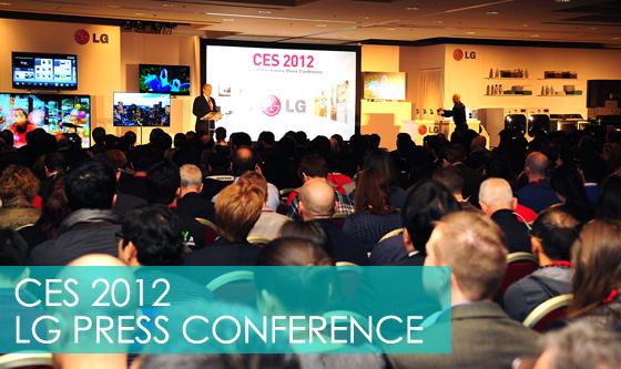 CES 2012 LG PRESS CONFERENCE