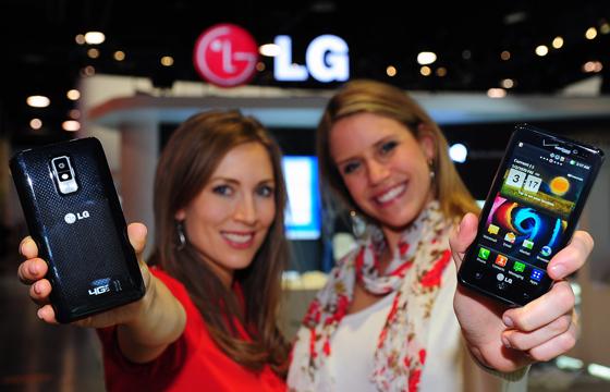 LTE 스마트폰 광고 사진