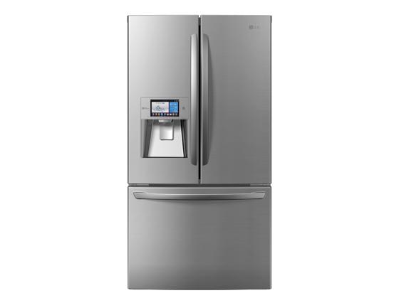 스마트 푸드매니저 기능을 탑재한 냉장고 사진