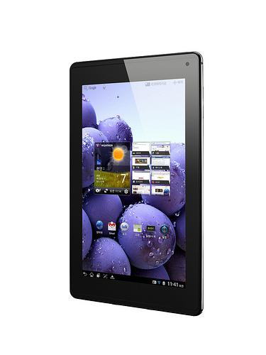 옵티머스 패드 LTE 제품 사진
