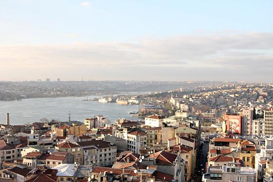 이스탄불 신시가지 모습