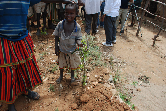 에티오피아 어린이 사진
