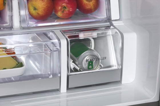 프렌치 도어 냉장고 사진