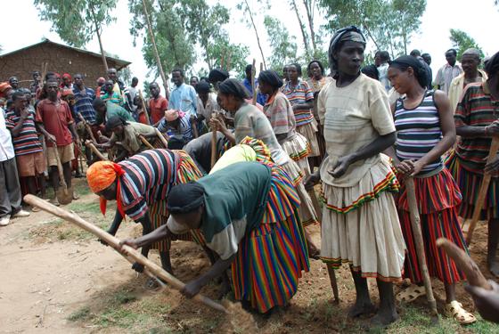 에티오피아 주민 사진